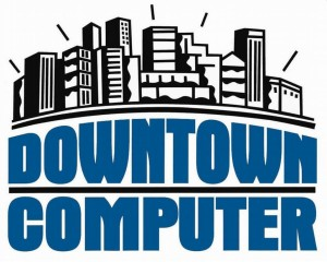 Downtown Computer Logo